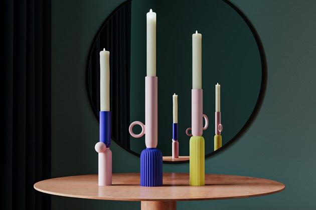 Keramické svícny Joséphine (Maison Dada) jsou pojmenovány po první manželce Napoleona, která byla svého času tím, co dnes nazýváme módní ikonou.