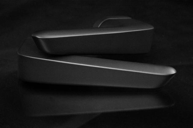 Klika Infinity (Cobra), design Petr Novague, matný nikl, cena od 3 812 Kč, WWW.MATEKLIKU.CZ