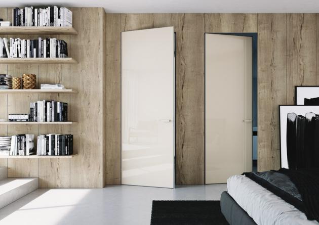 Dveře Master Door se zárubní Aktive (JAP FUTURE), povrchovou úpravu lze sladit s okolními stěnami, cena dveří od 15 329 Kč, cena zárubně od 12 026 Kč, WWW.JAPCZ.CZ