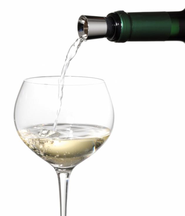 Nálevka na víno se zátkou Vino