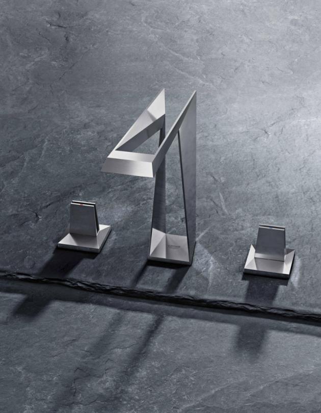 Baterie Allure Brilliant v nové podobě Icon 3D (Grohe), cena na dotaz, WWW.GROHE.CZ