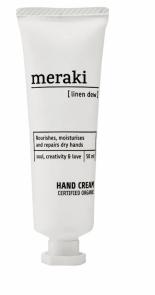 Organický krém na ruce Linen Dew (Meraki), objem 50 ml, cena 390 Kč, WWW.STOCKIST.CZ