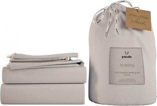 Povlečení na ložní prádlo The Bedding (Panda) vyrobené ze 100% organicky pěstovaného bambusu, cena 4 382 Kč, WWW. MYPANDALIFE. COM