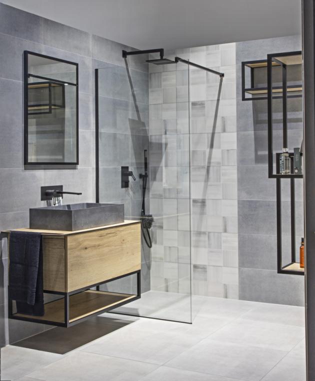 Koupelnová skříňka pod umyvadlo Oxo (Naturel), 90 × 50 cm, více rozměrů, dub halifax, cena 25 990 Kč, WWW.SIKO.CZ