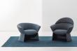 Polstrování sedacího nábytku z kolekce Swale (La Cividina) je tak měkké a všeobjímající, že nabízí maximální pohodlí při družných hovorech i oddechové četbě.