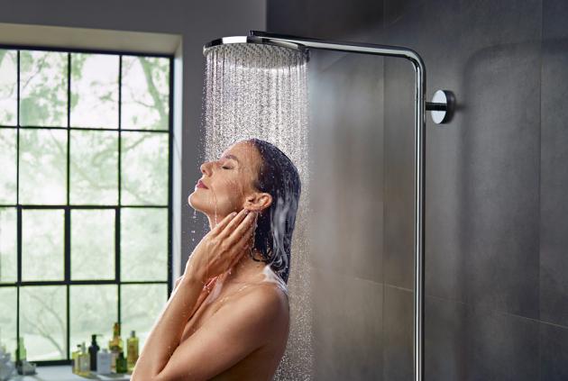 PowderRain, sprchový proud, který zahalí tělo do závoje z tisíce mikrokapek