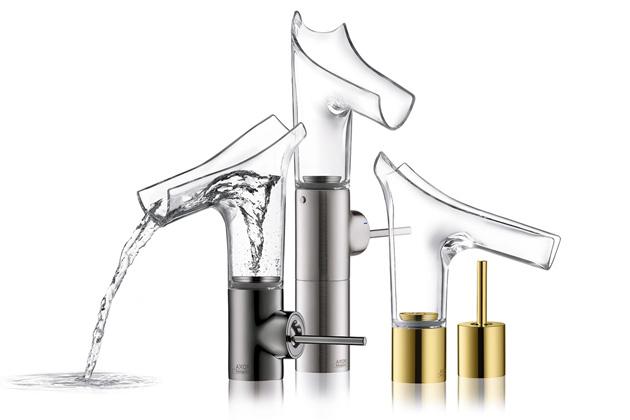 Vodovodní baterie AXOR Starck V z dílny designéra světového významu Philippa Starcka