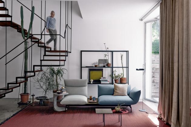 Sofa Tenso System (Kristalia), design Luca Nichetto, textilie, více druhů, více kombinací uspořádání, cena od 151 342 Kč, WWW.STOCKIST.CZ