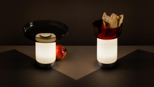 KonceptBontà(Artemide) propojuje svět jídla a světla.