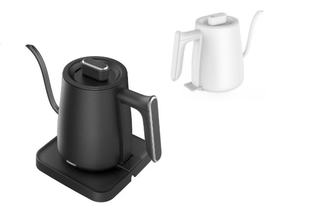 Rychlovarná konvice Pour-over (Donlim) získala za svůj vzhled a funkčnost ocenění Red Dot Design.