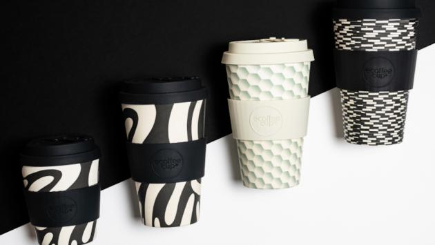 Cestovní hrnek Cup Diggi Do (Ecoffee), silikonové víčko s uzávěrem, objem 340 ml, cena 251 kč, WWW.HOMEFOREMMA.CZ