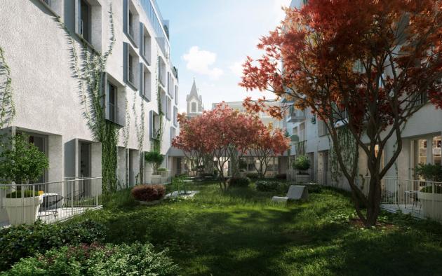 Lidé se do bytů budou stěhovat po dokončení stavby vlétě 2022. Finančním partnerem projektu je Raiffeisenbank a.s.