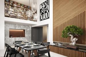 Společná investice Biskupství královéhradeckého a developerské společnosti Karlín Group do stavebních nákladů multifunkčního objektu Dva Domy vpražském Karlíně činí 530 milionů korun.