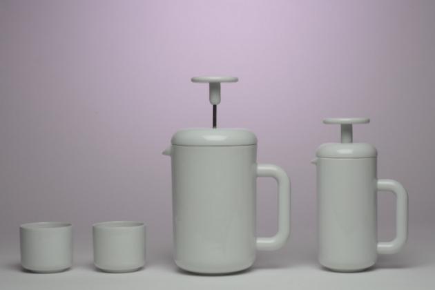 Rudolf Kämpf / porcelánová série SOLO (Antonín Tomášek a David Síla)
