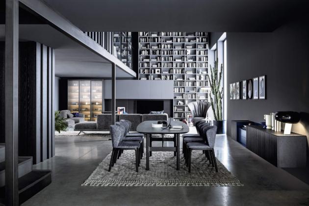 Obrazem: Městský penthouse s 50 odstíny šedi