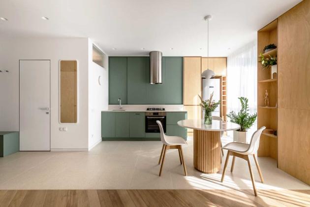 Z malého bytu vznikl multifunkční prostor