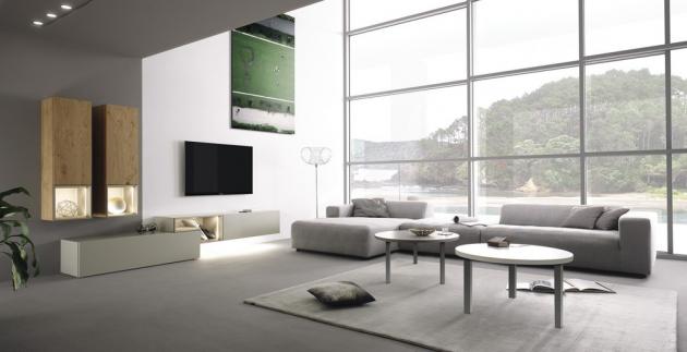 Sedací souprava hülsta sofa hs.432 (hülsta), textilie Steingrau 024-30, cena zobrazeného modelu 134 260 Kč, WWW.SEDACKYHULSTA.CZ
