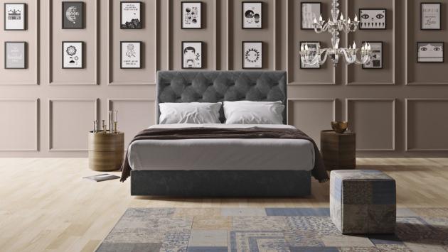 Čelo postele Freya, 130 × 160/180 × 12 cm, cena na dotaz, WWW.CASAMODERNA.CZ¨