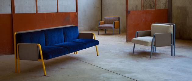 Fenomén synestézie inspiroval vznik kolekce sedacího nábytku Swing (Adrenalina).