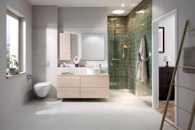 Jika: Nový koupelnový nábytek rozšiřuje možnosti řešení úložných prostor