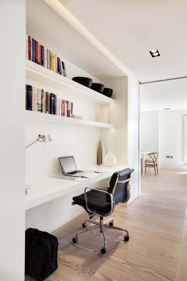 Bydlení v Londýně je jako stvořené pro home office (Foto: Bruce Hemming / Mike Neale)