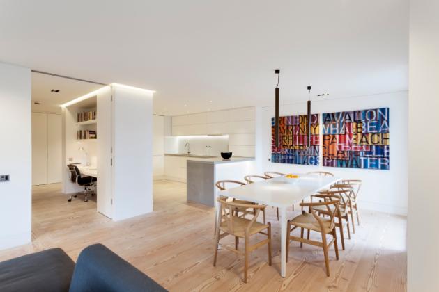 Bydlení v Londýně je jako stvořené pro home office