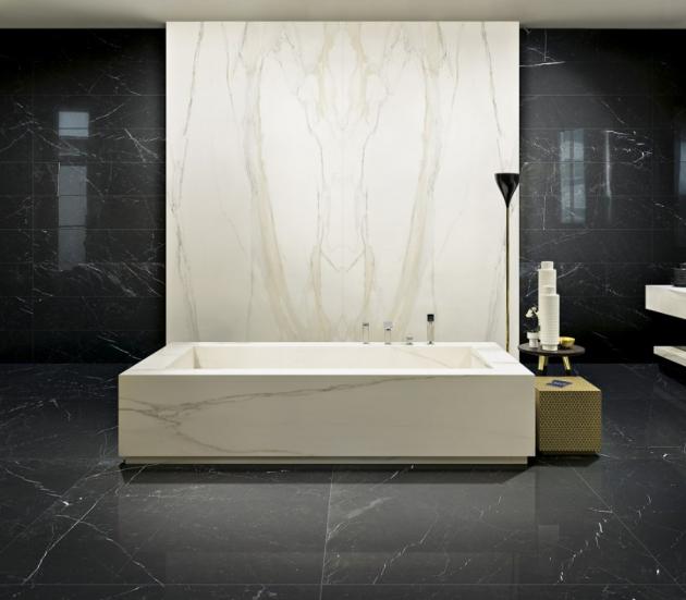 Série I Classici di Rex (Florim4Architects),160 × 320 cm, Calacatta Gold, mat, cena 2 990 Kč/m2, WWW.PROCERAM. CZ