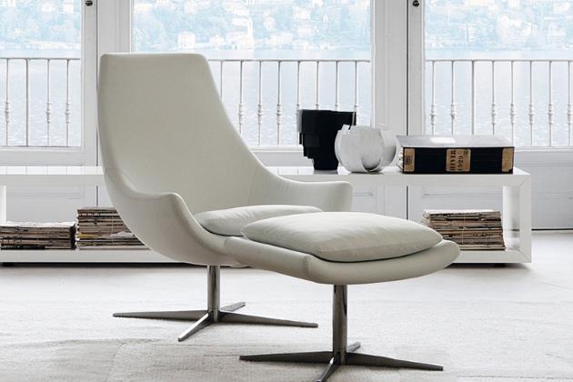 Stylové pohodlné relaxační křeslo Ego od značky Désirée je nepostradatelným doplňkem do moderního interiéru.