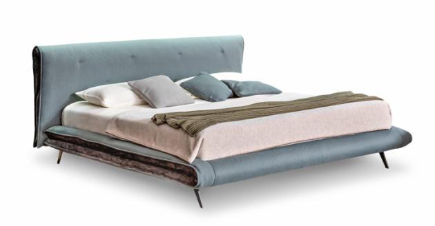 Saddle bed: postel výrazná a odlehčená zároveň