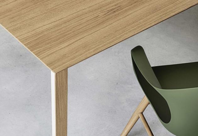 Stůl Thin-K je důvtipný jako myšlenka, dokonalý jako matematické vzorce, jenž byly inspirací pro designéra Luciana Bertoncini, jehož vášní je mechanika.