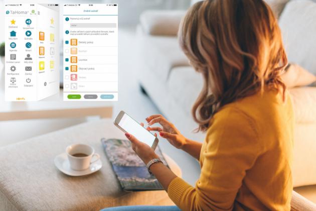 Bezdrátové technologie SOMFY umožňují automatizovat domácnost přesně podle potřeb uživatelů.