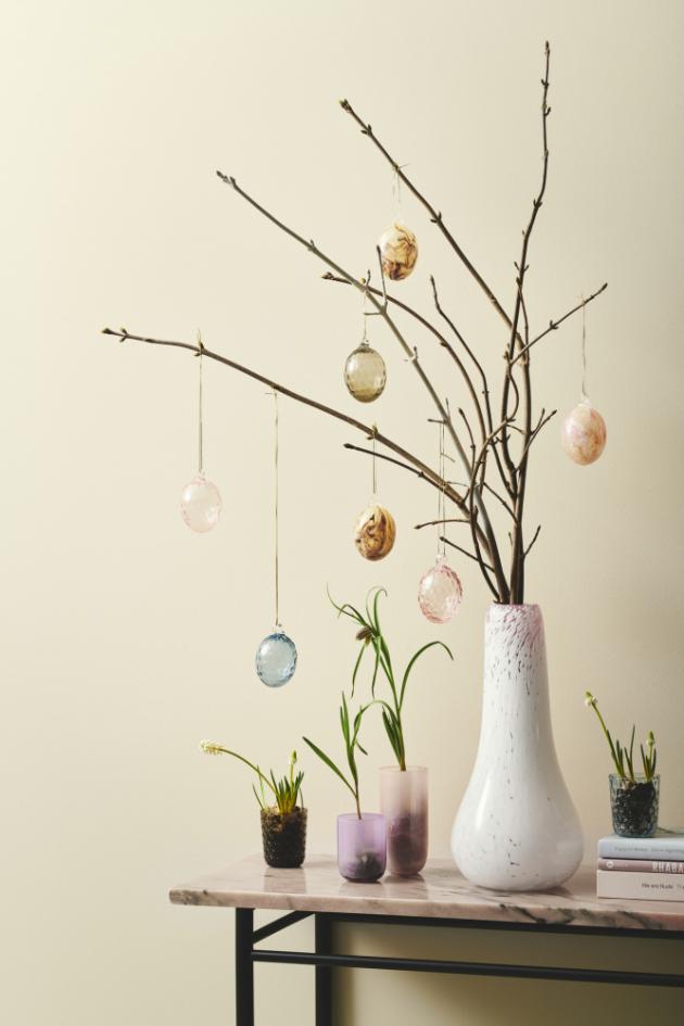 Pro Marii Graff, zakladatelku dánské značky Kodanska, mají Velikonoce zvláštní význam, proto se je rozhodla oslavit uvedením kolekce skleněných velikonočních kraslic Danish Summer Easter Egg.
