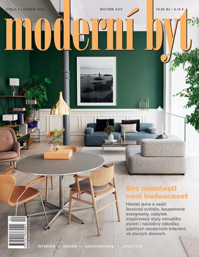 Brzy vyjde nové číslo časopisu Moderní byt