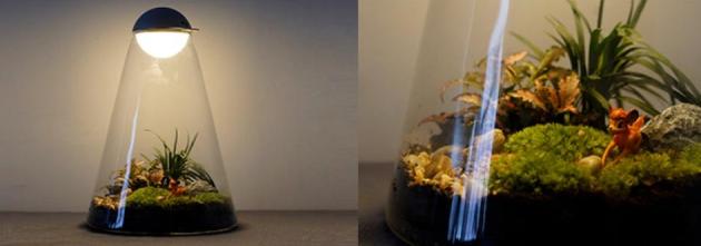 Beam (Artop) je bezdrátová stolní lampa s dotykovým ovládáním.