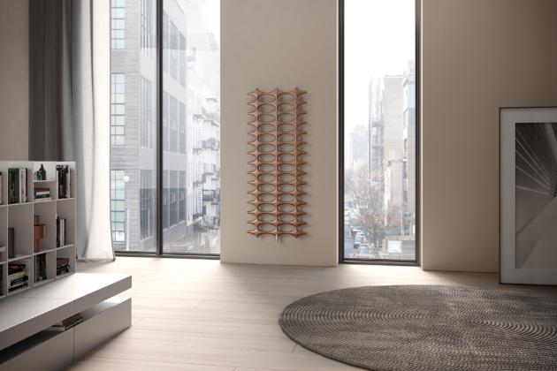Radiátor Ideos (Kermi), různé velikosti, teplovodní / přídavné elektrické vytápění / elektrické, cena od 14 000 Kč, WWW.KERMI.CZ
