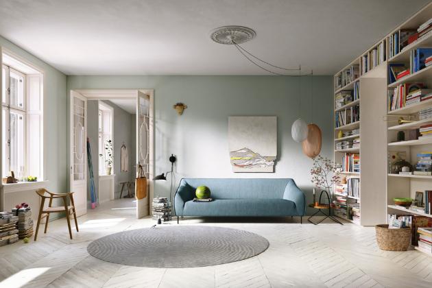 Sofa Freistil 132 (freistil Rolf Benz), design Yonoh, konstrukce ze dřeva a kovu, 212 × 75 × 88 cm, cena od 34 312 Kč, WWW.STOPKA.C