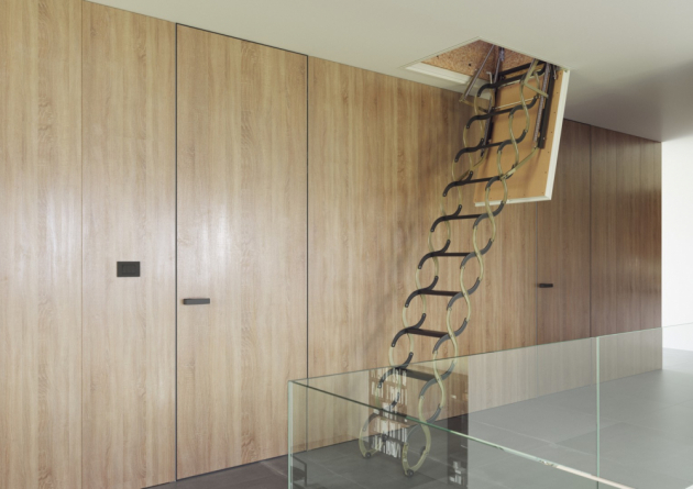 Stahovací schody KOMBO (JAP FUTURE)