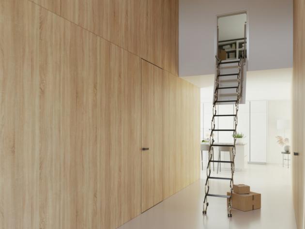 Stahovací schody VERTICALE (JAP FUTURE)