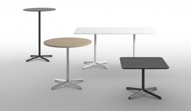 Kolekce Clivo je bohatší o stolky charakteristické hlavně jednoduchým vzhledem, který umožňuje prakticky univerzální využití.