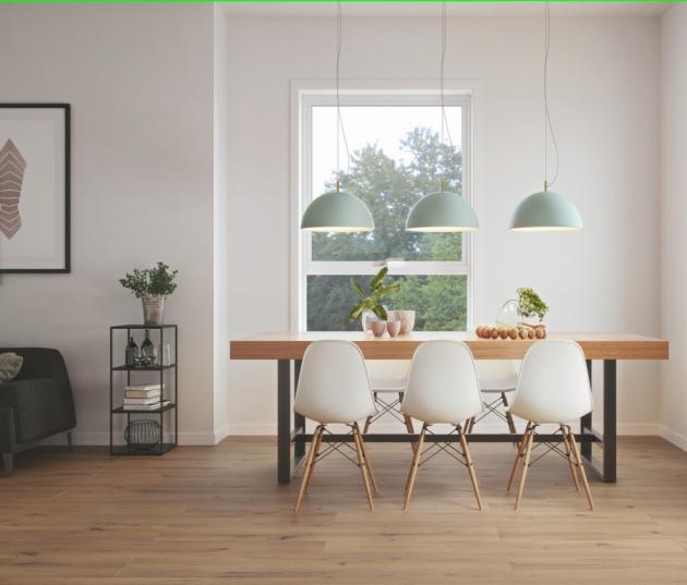 Dřevěné dekory vinylů a SPC podlah z nové kolekce  KPP HOME XL přimějí pokleknout i znalce
