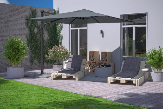 Ochrana proti slunečním paprskům se stává nedílnou součástí pobytu na zahradě. Slunečník, sluneční plachta, markýza nebo party stan jsou pomocníci téměř každého soukromého exteriéru.