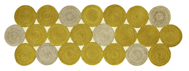 Moderní tapiserie Kool (Élitis) z jutových vláken, 85 × 259 cm, cena na dotaz, WWW.ELITIS. FR