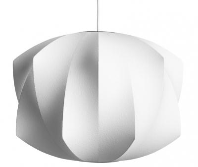 Bublina, která nesplaskne Bubble lamps navrhl George Nelson v roce 1947, když se zamiloval do kolekce závěsných lamp ze Švédska vyrobené z drátů a hedvábí, která však byla příliš drahá. Reagoval inovací v podobě výrazně levnějšího plastového polymeru a originálního tvarosloví s charakteristickým rukopisem. Vyrábí HAY, cena od 13 030 Kč do 60 930 Kč, WWW.DESIGNVILLE.CZ