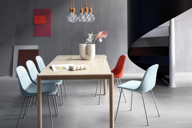 E27 LED (Muuto), design Mattias Stahlbom, silikon a PVC, výška 23 cm, O 12,5 cm, cena od 1 309 Kč, WWW.STOCKIST.CZ