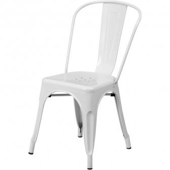 Odolná plechovka Za oblíbeným industriálním designem židle Chaise A stojí Xavier Pauchard, který ji navrhl roce 1934. Je stohovatelná, velmi odolná proti nárazům, k dispozici v lesklé lakované oceli, saténové lakované oceli nebo se smaltovaným povrchem a v pestré škále barev. Velmi praktické jsou otvory v sedáku pro odtok vody. Vyrábí Tolix, cena od 6 000 Kč, WWW.STOCKIST.CZ
