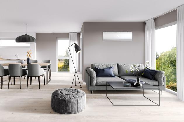 Nástěnná klimatizační jednotka Jade Plus s čističkou vzduchu s nanočásticemi stříbra (Haier) a možností připojení na wi-fi, energetická třída A+++, hlučnost od 15 dB(A), cena od 44 802 Kč, WWW.HAIER-KLIMATIZACE.CZ