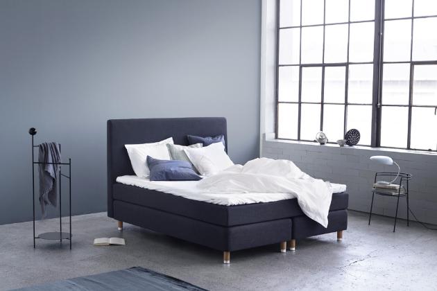 Kontinentální postel Lux (Zleep) s dělenou spodní částí se třemi vrstvami pružin, WWW.DREAMBEDS.CZ