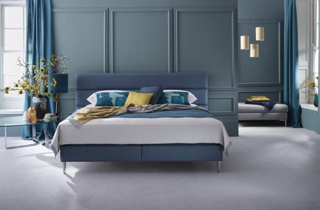 Ručně vyráběná postel Elizabeth Limited Edition (Vispring) s hedvábím, kašmírem a shetlandskou vlnou, WWW.DREAMBEDS.CZ