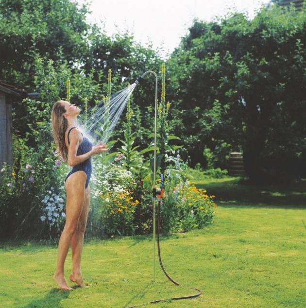 Zahradní sprcha Gardena