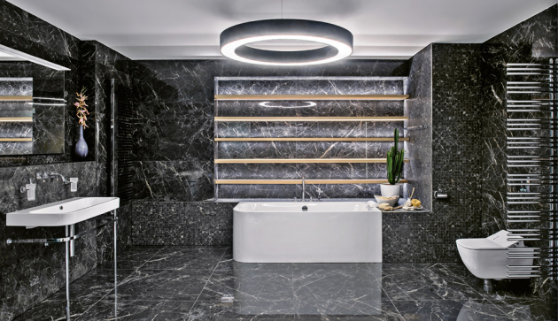 Obklady a dlažba z kolekce Allmarble (Marazzi), více rozměrů a dekorů, cena od 1 295 Kč/m2, WWW.KOUPELNY-PTACEK.CZ